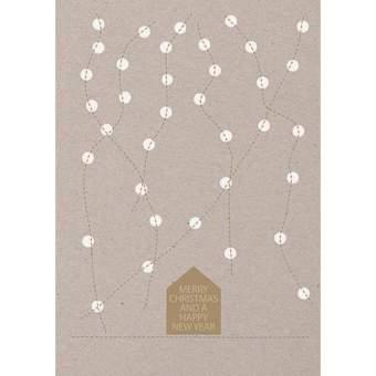 """Weihnachtsfaden Karte """"Krippe"""""""