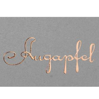 "Postkarte ""Augapfel"""