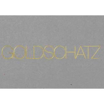 """Postkarte """"Goldschatz"""""""