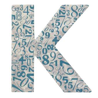 "Paper & Poetry. ABC Schachtel ""Buchstabe K"""