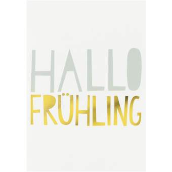 "Postkarten ""Hallo Frühling"""