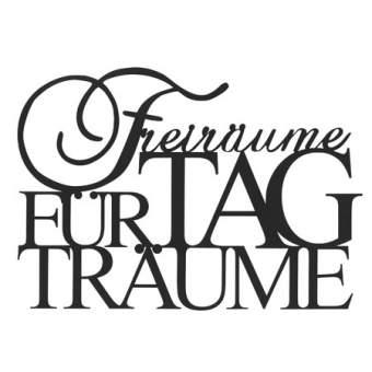 """Zuhause. Wandpoesie. """"Freiräume für Tagträume"""""""