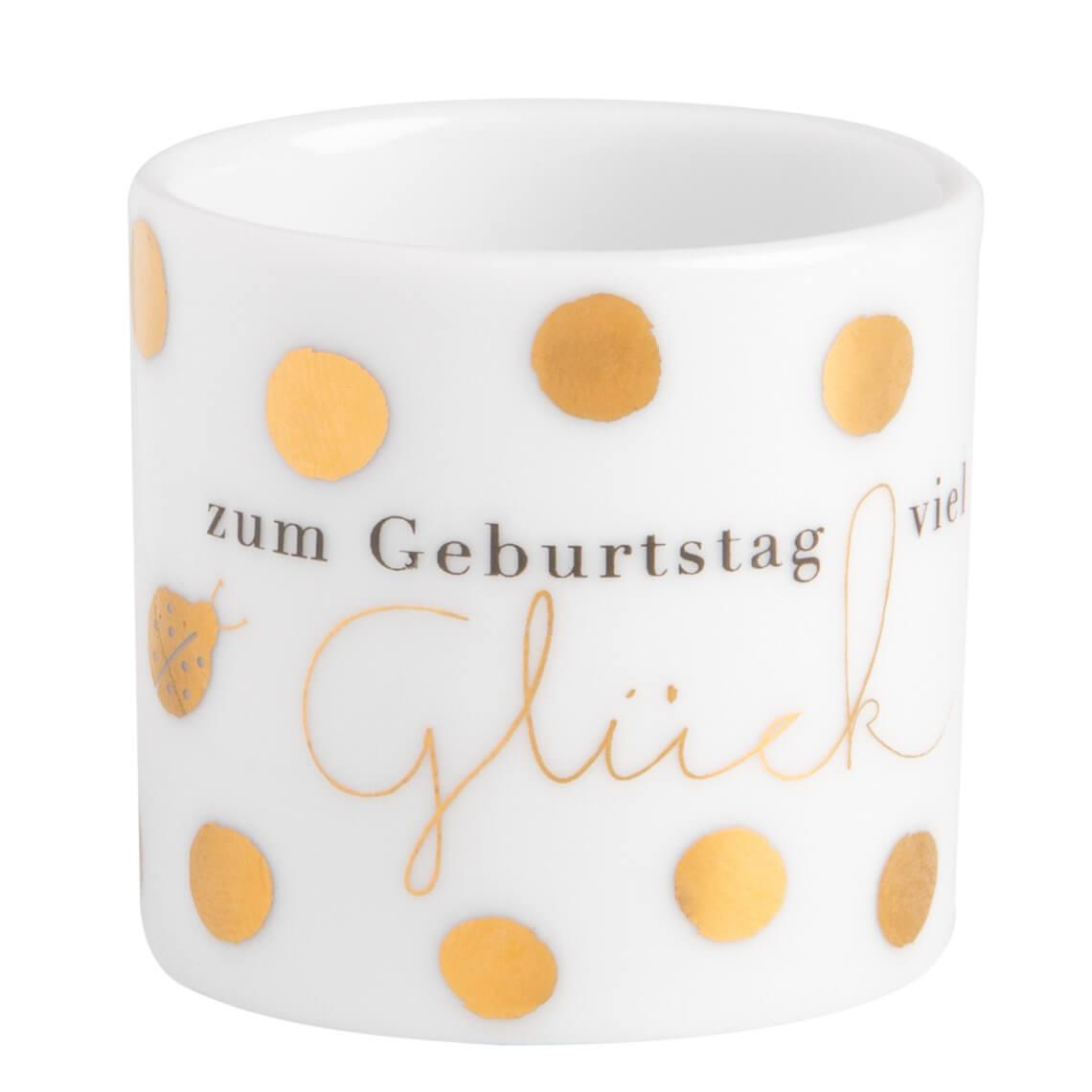 R/äder Giving Kleines Geschenkglas Gl/ückwunsch