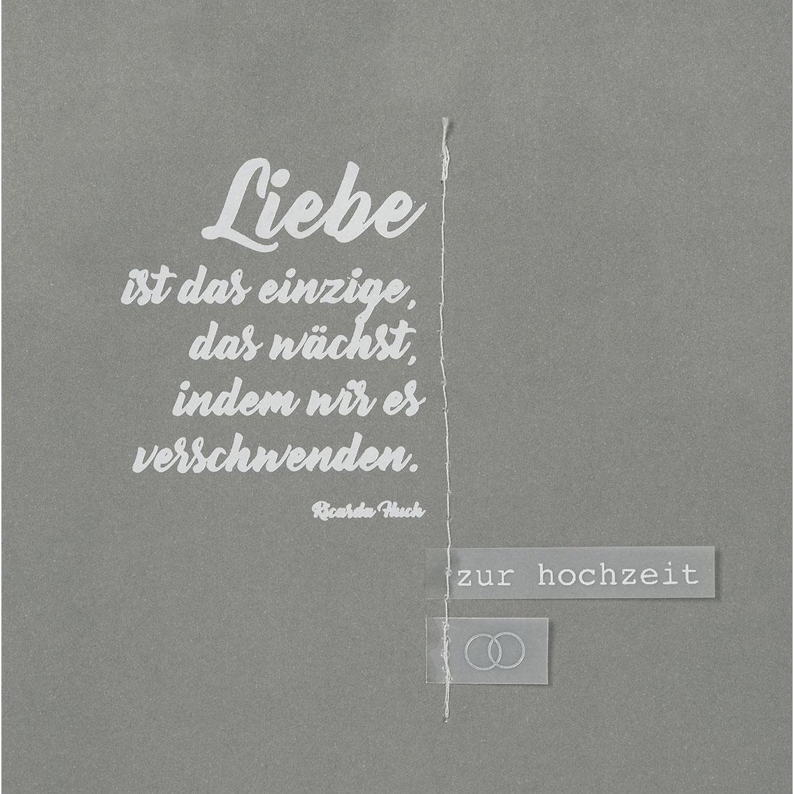 Hochzeitskarte Gluckwunsch A4 Hochzeitskarte Gross Sanfte Farben