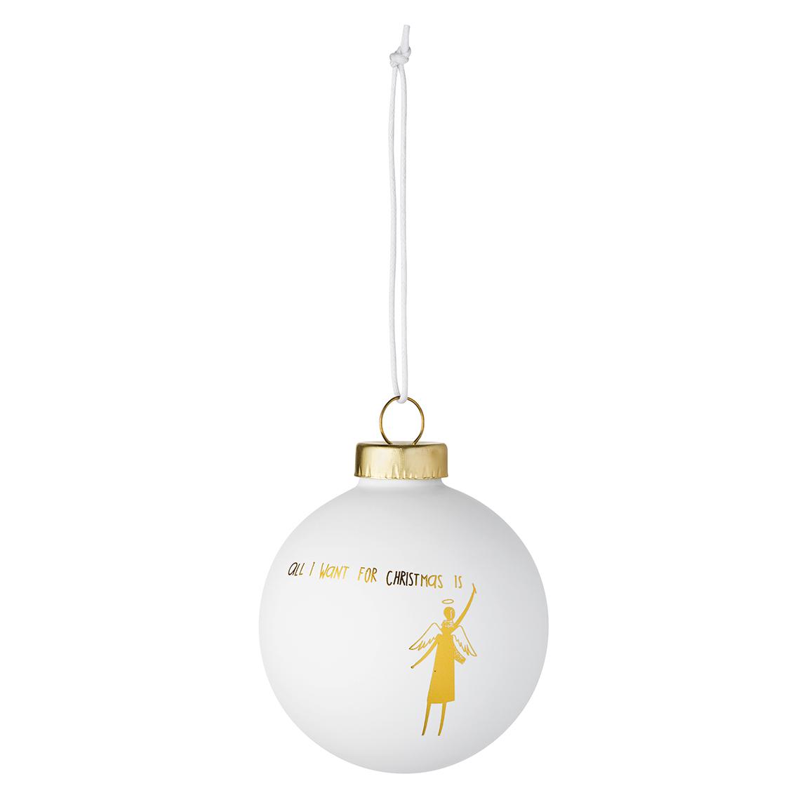 Räder Weihnachtskugeln.Winterwunderland Kugel All I Want For Christmas